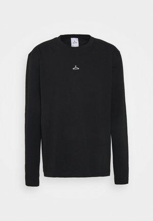 HANGER LONGSLEEVE - Long sleeved top - black