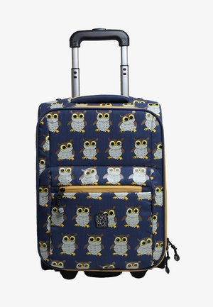 OWL - Wheeled suitcase - blue