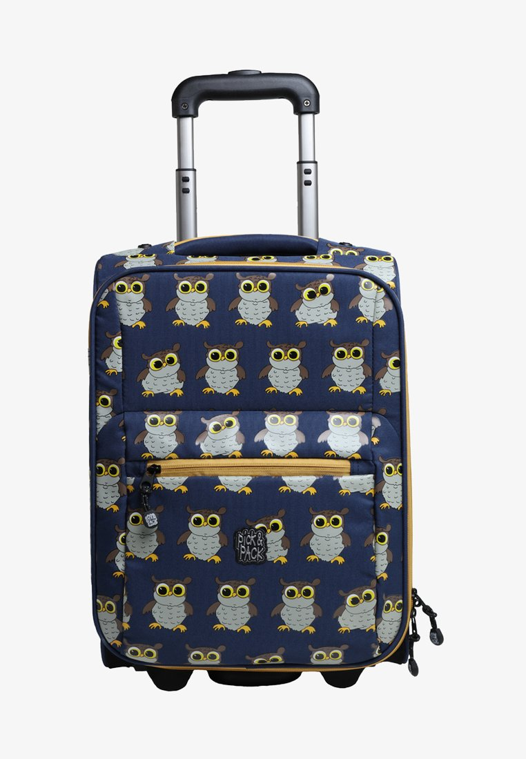 pick & PACK - OWL - Wheeled suitcase - blue