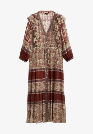 MIT PRINT - Robe d'été - bordeaux