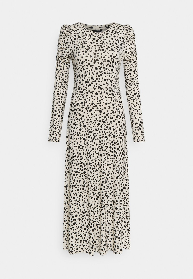 Lindex - DRESS PIA - Jersey dress - light beige