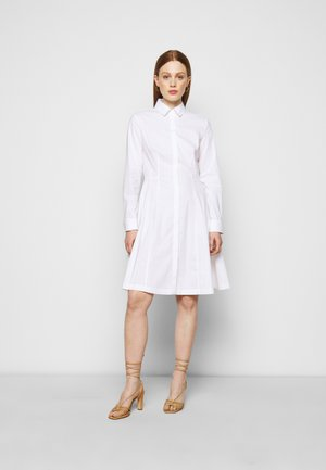 SUMMER DRESS - Shirt dress - white