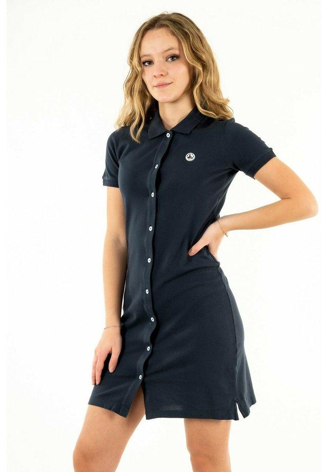 LOM - Robe chemise - bleu