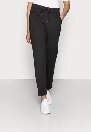 TROUSER - Teplákové kalhoty - black
