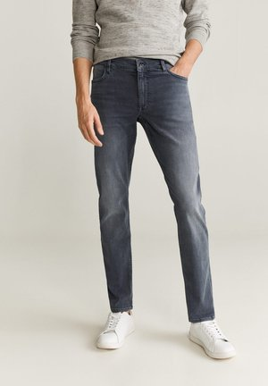 PATRICK - Jeans slim fit - gris denim