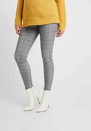 CHARLES CHECK BENGALINE TROUSER - Pantalon classique - grey