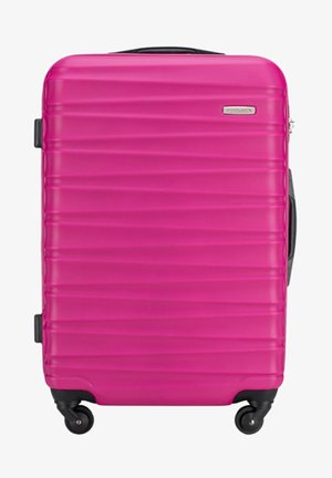 GROOVE LINE - Wheeled suitcase - rose