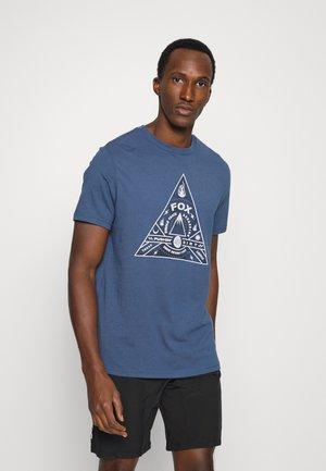 SINGLE TRACK TEE - T-shirt print - dark indigo