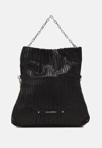 KARL LAGERFELD - KUSHION FOLDED TOTE - Tote bag - black - 2