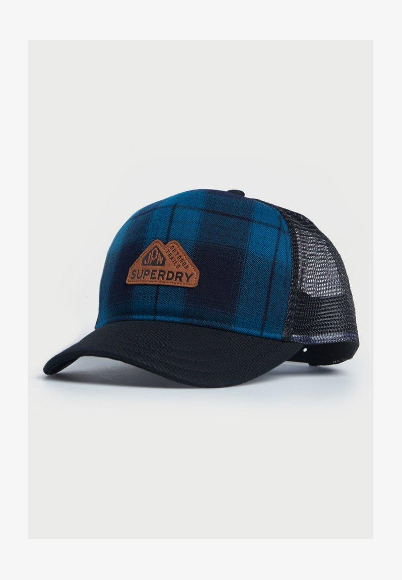Superdry - VERMONT  - Cap - light blue