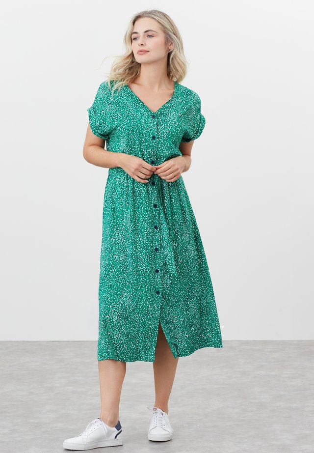 Shirt dress - grün sprenkel
