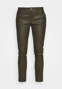 DAY Birger et Mikkelsen - DOGUNA - Leather trousers - deep - 3