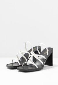 RAID - DONNA - Sandalen met hoge hak - white - 4