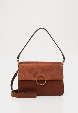 Handbag - authentic cognac