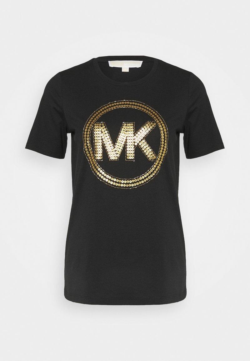 MICHAEL Michael Kors - T-shirts print - black/antique brass