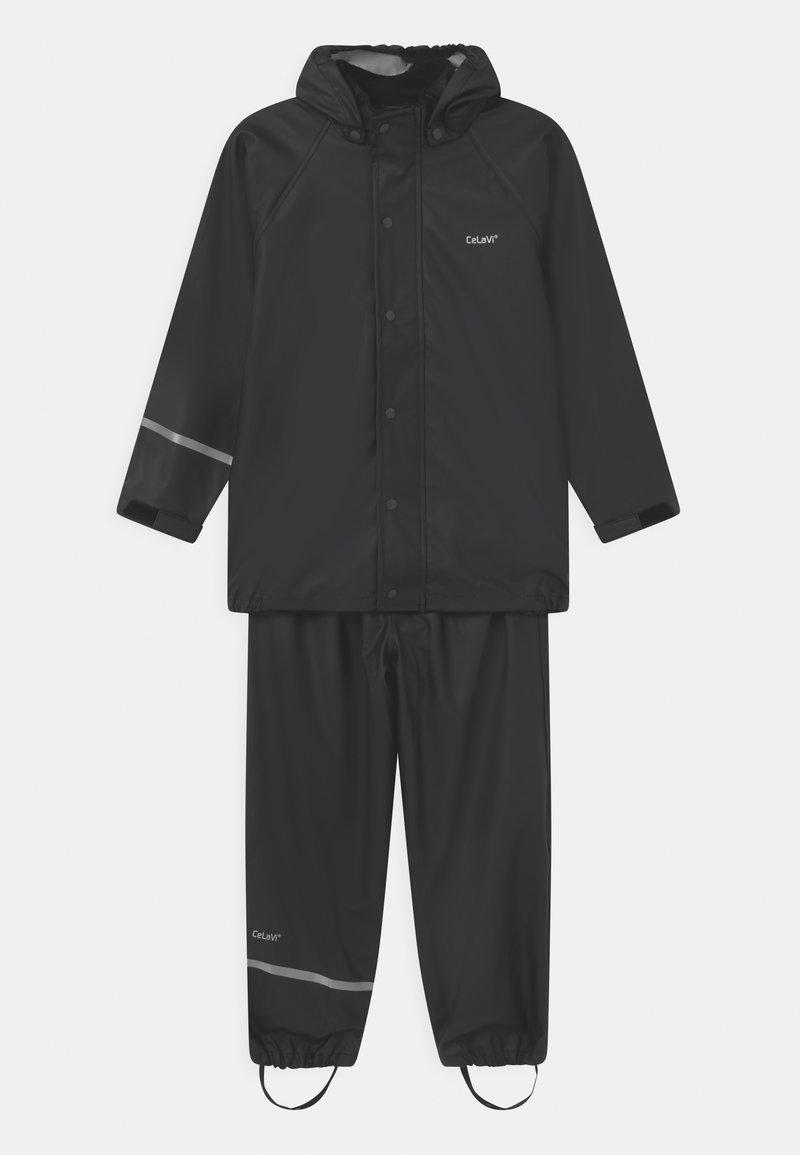 CeLaVi - SET UNISEX - Pantaloni impermeabili - black