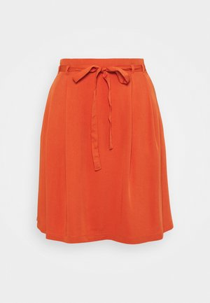 VIVERO SKIRT - Mini skirt - burnt ochre