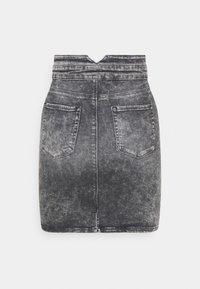 ONLY - ONLVIENNA LIFE MINI SKIRT  - Denim skirt - grey denim - 1