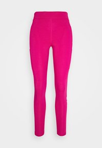 Nike Sportswear - Leggings - Trousers - fireberry/white - 4