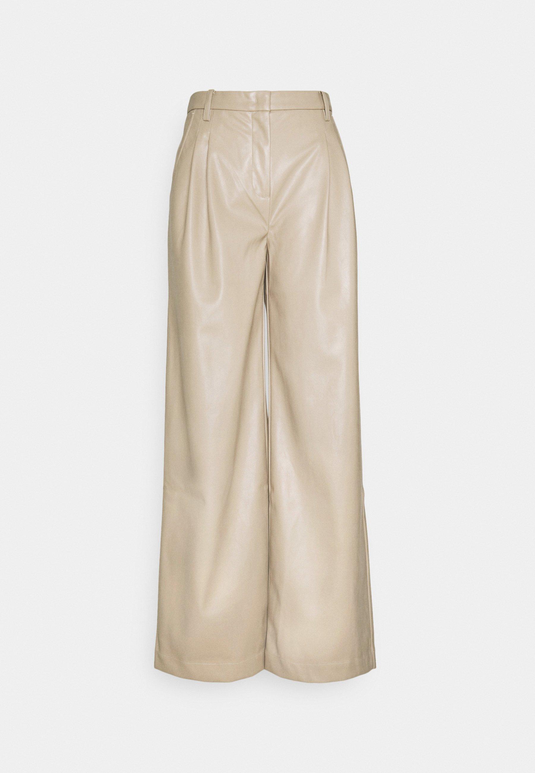 Women MARIE WIDE PANTS - Trousers