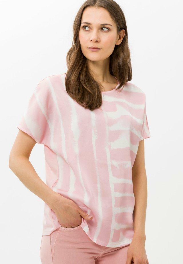 STYLE CAELEN - T-shirt print - rose
