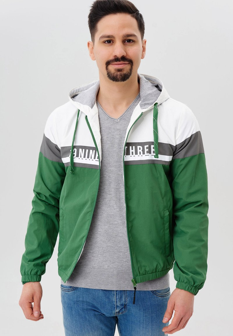 INDICODE JEANS - Windbreaker - fairy green
