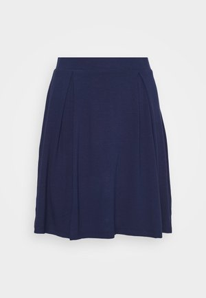 A-line skirt - evening blue