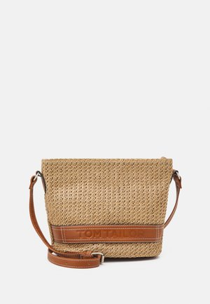 LUISA - Across body bag - mixed cognac