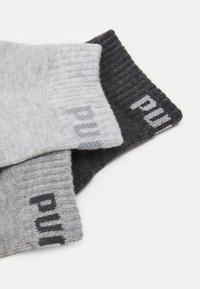 Puma - QUARTER PLAIN 6 PACK UNISEX - Sports socks - grey combo - 1
