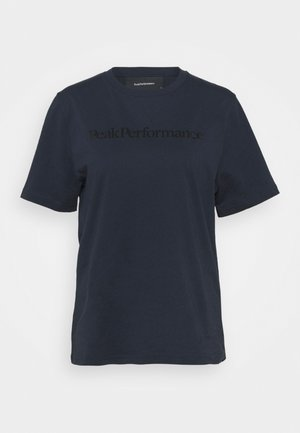 ORIGINAL SEASONAL TEE - Print T-shirt - blue shadow