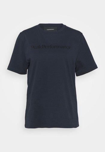 ORIGINAL SEASONAL TEE - Camiseta estampada - blue shadow
