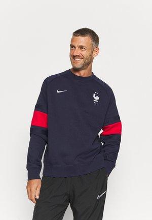 FRANKREICH FFF AIR CREW - Sweatshirt - blackened blue/university red/white