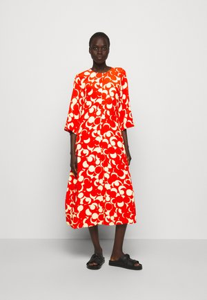 PEILAUS MURIKAT DRESS - Day dress - red/beige
