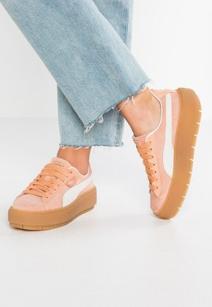 PLATFORM TRACE  - Trainers - dusty coral/pomegranate