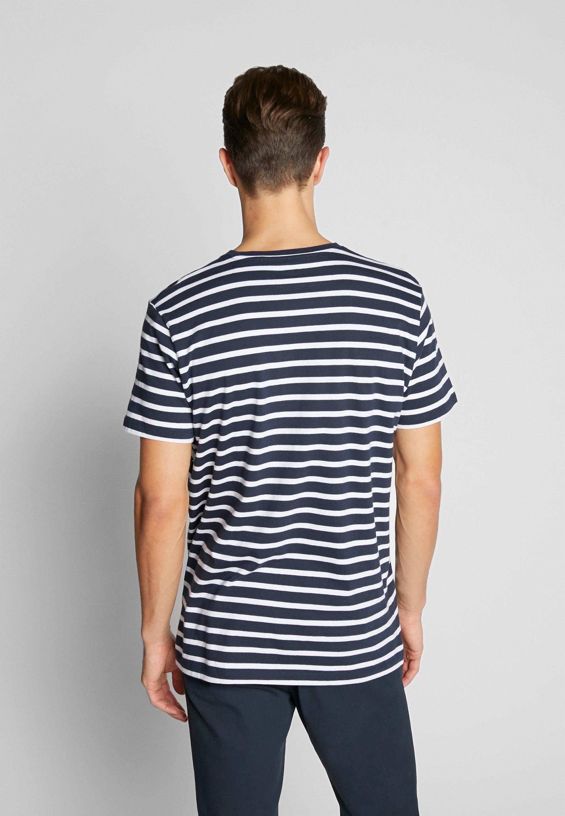 Esprit Print T-shirt - navy e8yLe