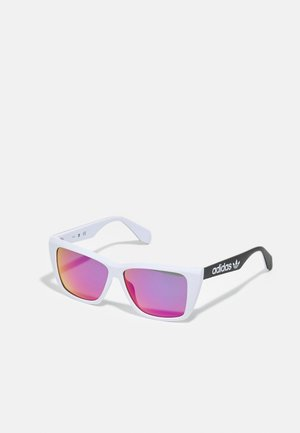 UNISEX - Sunglasses - white/violet