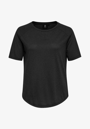 HMLVANJA - Basic T-shirt - black