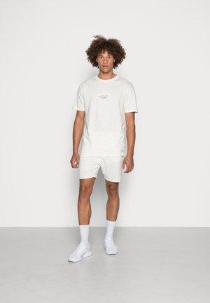 PATCH TWINSET - Jednoduché triko - off-white
