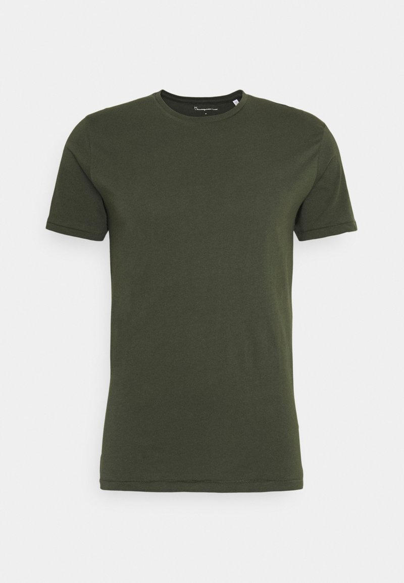 KnowledgeCotton Apparel - ALDER TEE - T-shirt - bas - forrest night