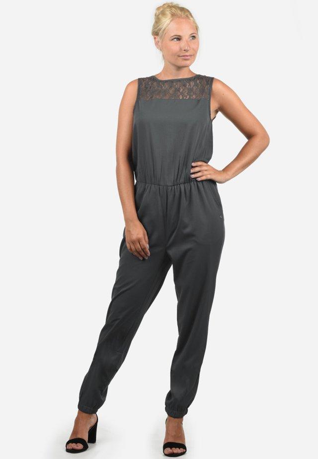 AMOR - Jumpsuit - ebony grey