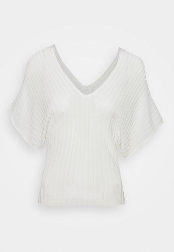 PROFILO - Basic T-shirt - white
