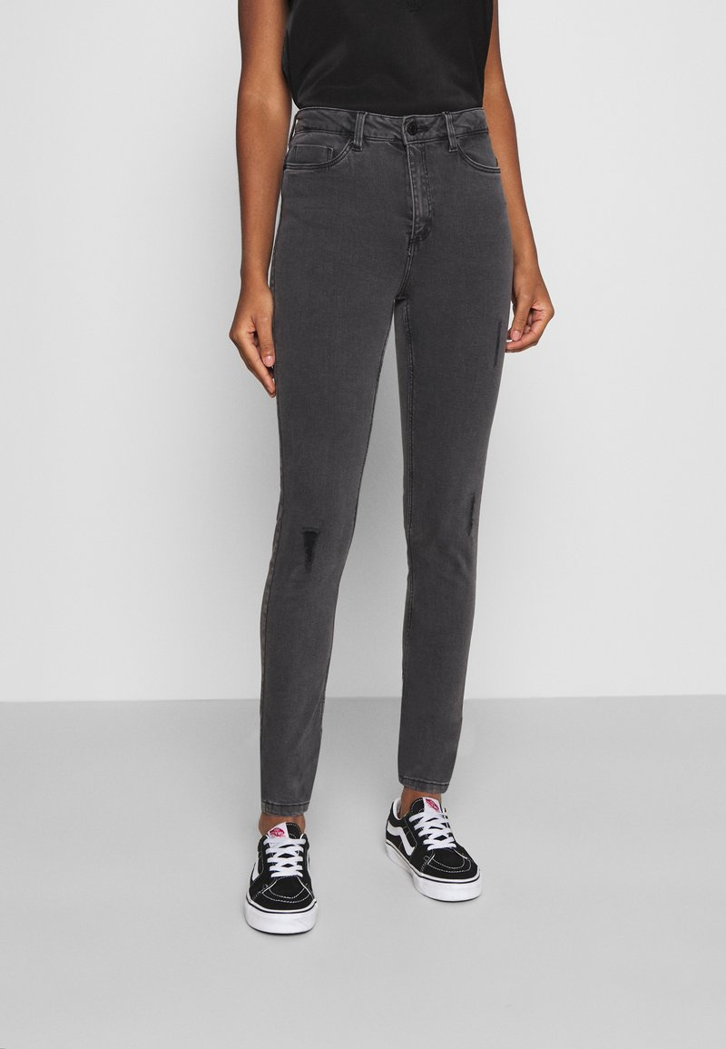 Noisy May - NMCALLIE BREAK - Jeans Skinny Fit - grey denim