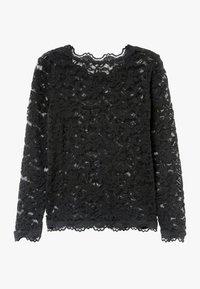 Rosemunde - T-SHIRT LS - Bluser - black - 1