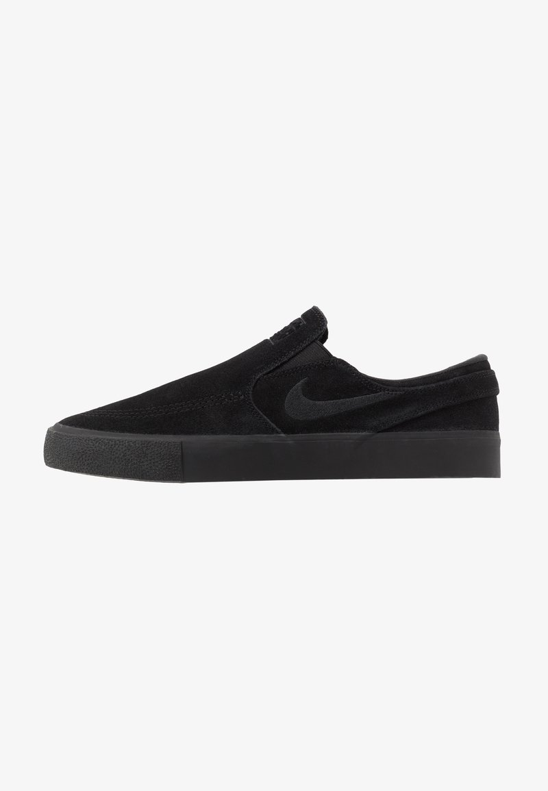 Nike SB - ZOOM JANOSKI - Slip-ons - black/photo blue/hyper pink