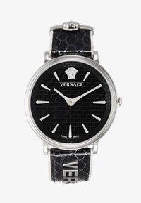Versace Watches - CIRCLE LOGOMANIA EDITION - Watch - black - 1