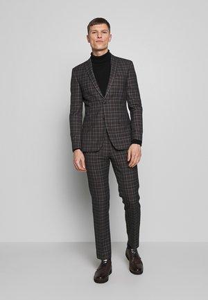 OVERCHECK SUIT - Oblek - grey