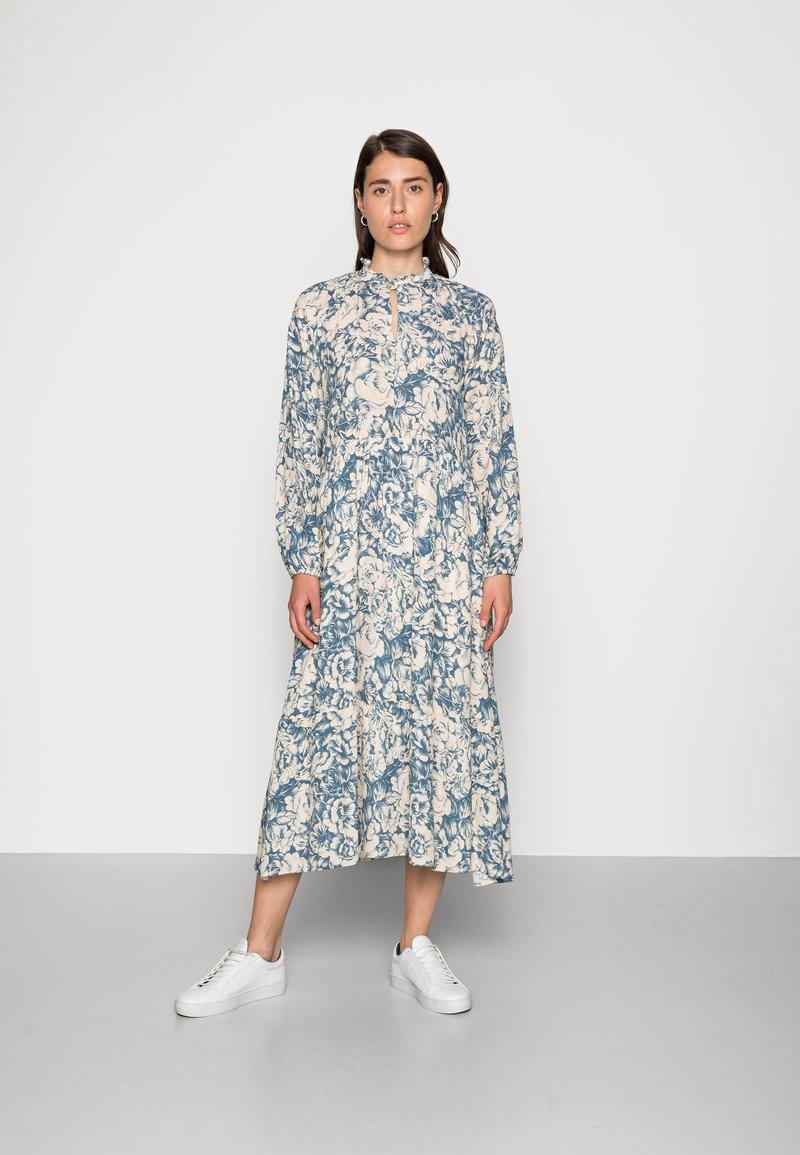 Rich & Royal - MIDI DRESS PRINTED - Day dress - parisian blue
