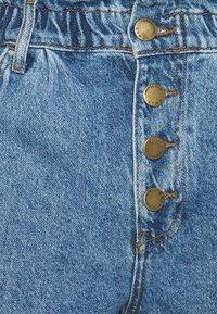 ONLY Tall - ONLCUBA LIFE PAPERBAG  - Denim shorts - medium blue denim - 2