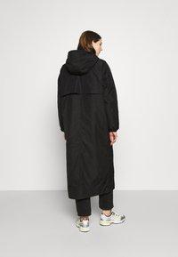 Weekday - MAY LONG JACKET - Winter coat - black - 2