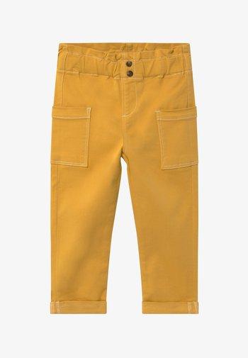 NMFROSE TWIATARA PANT - Trousers - spicy mustard